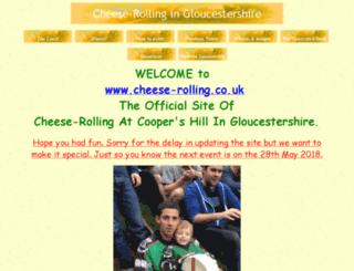cheese-rolling.co.uk screenshot