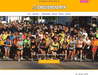 cheeseheadrun.com screenshot