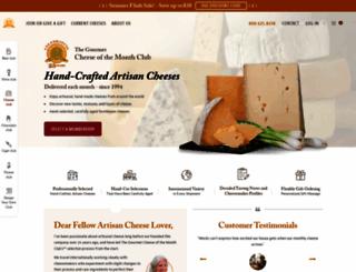 cheesemonthclub.com screenshot