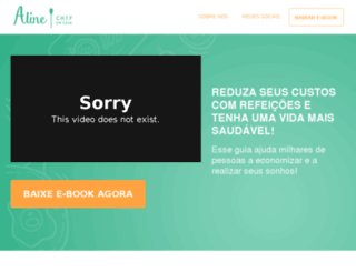 chefeemcasa.com.br screenshot