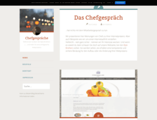 chefgespraeche.at screenshot