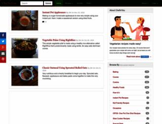 chefinyou.com screenshot
