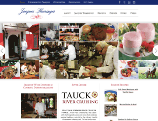 chefjacques.com screenshot