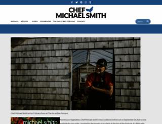 chefmichaelsmith.com screenshot