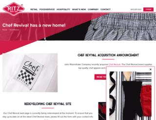 chefrevival.com screenshot