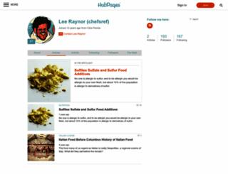 chefsref.hubpages.com screenshot
