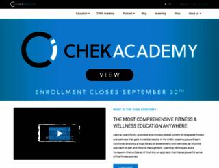 chekinstitute.com screenshot