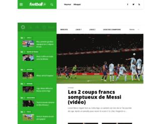 chelhabdz.football.fr screenshot