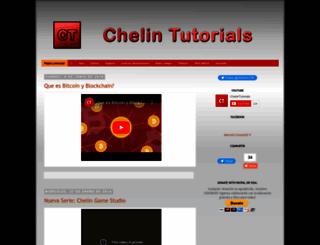 chelintutorials.blogspot.com screenshot