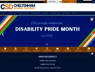 cheltenham.org screenshot