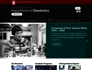 chem.indiana.edu screenshot