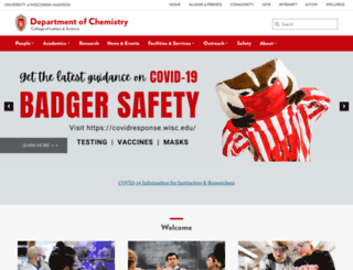 chem.wisc.edu screenshot