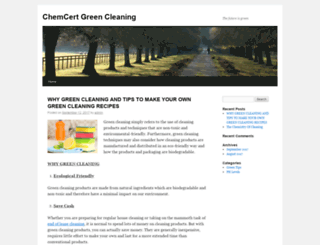 chemcert.org.au screenshot