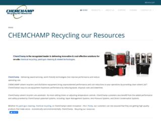 chemchamp.com screenshot
