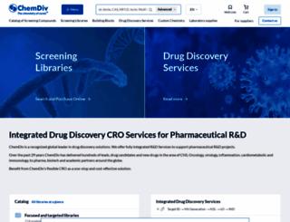 chemdiv.com screenshot