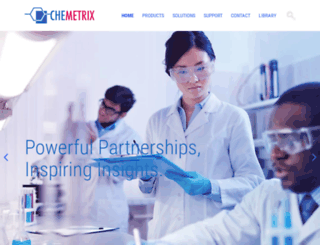 chemetrix.com screenshot