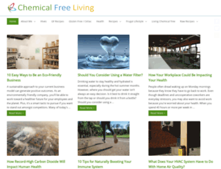 chemical-free-living.com screenshot