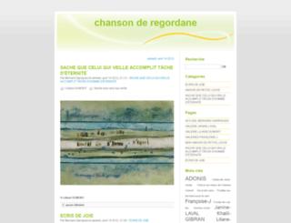 chemin-de-regordane.fr screenshot