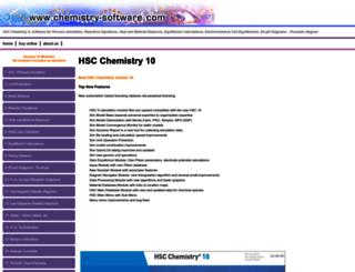 chemistry-software.com screenshot