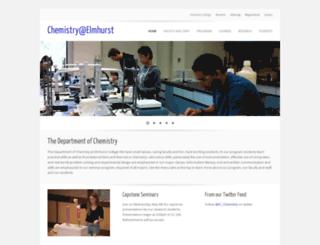 chemistry.elmhurst.edu screenshot