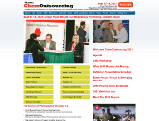 chemoutsourcing.com screenshot