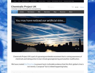 chemtrailsprojectuk.com screenshot