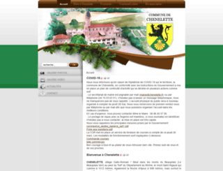 chenelette.fr screenshot