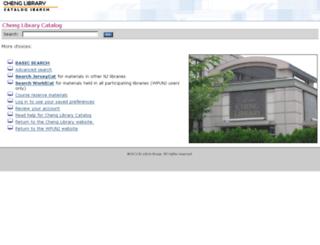 cheng.wpunj.edu screenshot