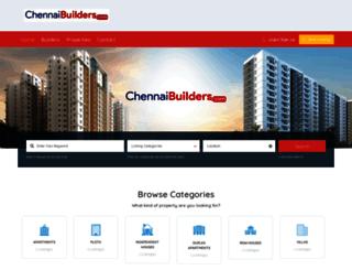 chennaibuilders.com screenshot