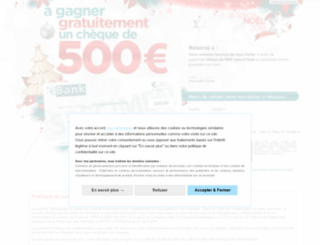 cheque-noel-deco.plein2kdo.com screenshot