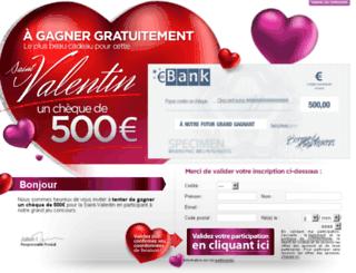 cheque-valentin.plein2kdo.com screenshot
