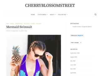 cherryblossomstreet.com screenshot