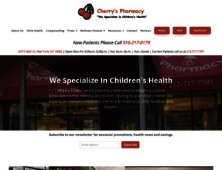 cherryspharmacy.com screenshot
