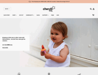 cherubbaby.com.au screenshot