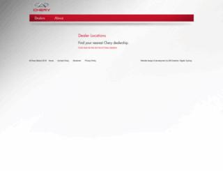 cherymotors.com.au screenshot