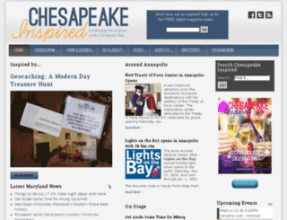 chesapeakeinspired.com screenshot