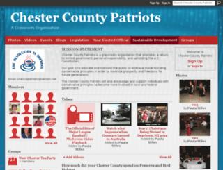 chescopatriots.ning.com screenshot