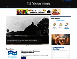 cheshireherald.com screenshot