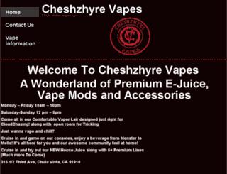 cheshzhyrevapes.com screenshot