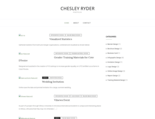chesleyryder.com screenshot