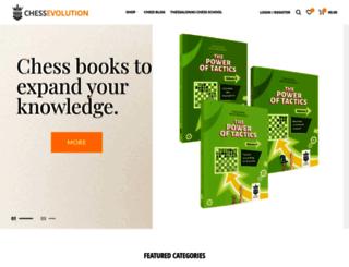 chess-evolution.com screenshot