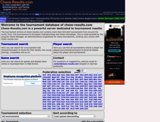 chess-results.com screenshot
