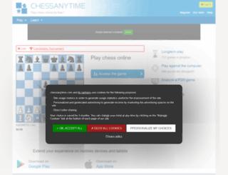 chessanytime.com screenshot