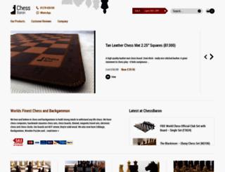 chessbaron.co.uk screenshot