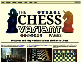 chessvariants.com screenshot
