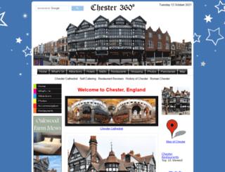 chester360.co.uk screenshot