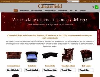 chesterfieldsofacompany.com screenshot