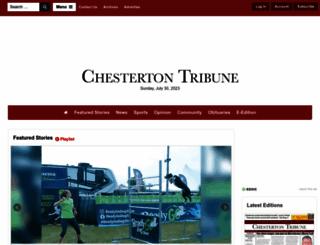 chestertontribune.com screenshot