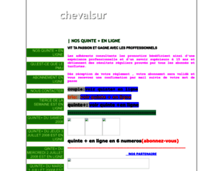 chevalsur.onlc.fr screenshot