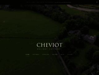 cheviotholidaycottages.co.uk screenshot